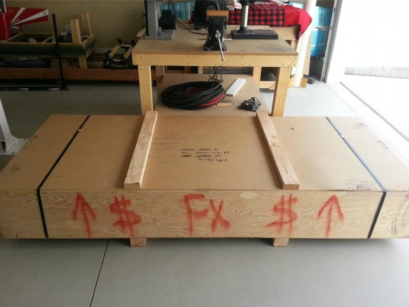 Fuselage Kit Arrives!